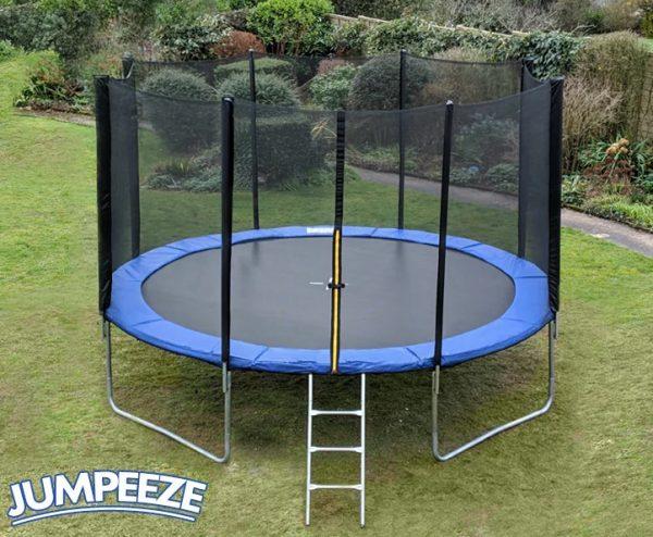Jumpeeze Blue 12ft trampoline package
