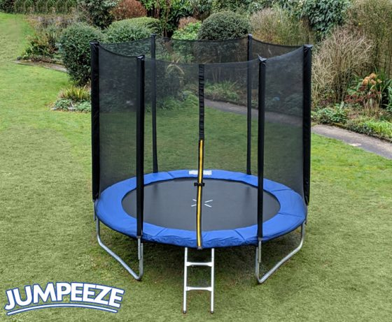Jumpeeze Blue 6ft trampoline package
