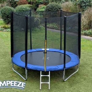 Jumpeeze Blue 8ft trampoline package