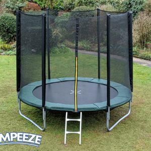 Jumpeeze Green 8ft trampoline package