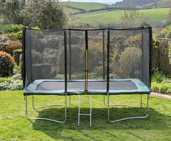 Kanga Green 8x12ft trampoline package