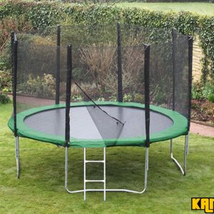Kanga Hi-Power Green 12ft trampoline package
